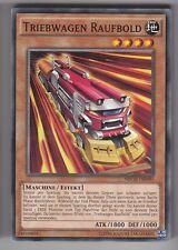 YU-GI-OH Triebwagen Raufbold Common NECH-DE090