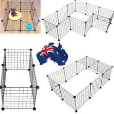 Pet Dog Safety Metal Gate Play Yard Indoor Outdoor Fence 6X Free Combination AU!