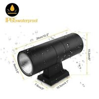 Outdoor LED Exterior Wall Light Sconce UP Down Dual Head Wall Lamp Waterproof