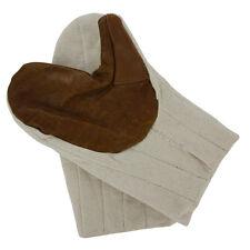 Medieval Cotton Padded Mitten Glove Reniassance Knights Templar Gauntlets