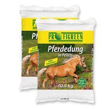 Pferdedung Pferdedünger 21 kg Pellets organisch Pferdemist Dünger (1,19 €/kg)