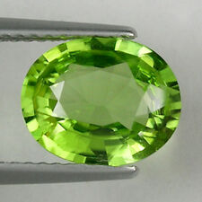 2.38 ct - TOP LUSTROUS - BEST GREEN RARE BURMESE - NATURAL PERIDOT - 2420