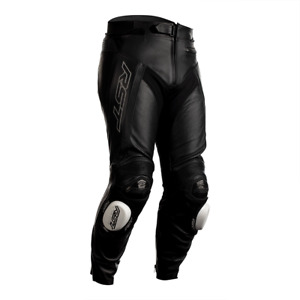 RST Tractech Evo R 2020 Leather Sports Motorcycle Motorbike Trousers - Black