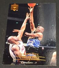 TYRONE HILL 1995-96 Upper Deck ERROR Double Name Logo SCARCE #6 Cavaliers 1/1?
