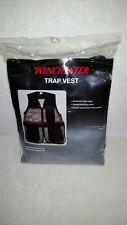 Winchester Trap/Hunting Vest Size Xl/Xxl Black/Tan-New in Pkg