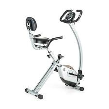 Capital Sports Ergometro Training bici Sedile Cyclette Trim Rad Impulso Argento