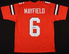 Baker Mayfield Rookie Signed Cleveland Browns Jersey Auto Oklahoma BECKETT