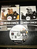 NFL Head Coach (Sony PlayStation 2, 2006) *BUY 2 GET 1 FREE +FREE SHIPPING*