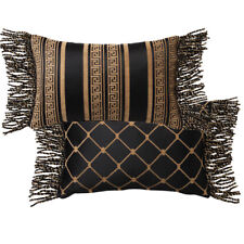 Davinci Massimo Black Filled Decorator Cushion