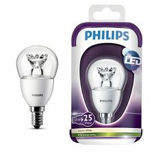 Philips 4W LED golfball bulb - E14 SES - Superior quality