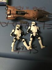 1995 Star Wars Speedbike With Two Figures