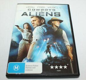 Cowboys & Aliens DVD Sci-Fi Daniel Craig Harrison Ford