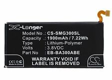 3.8V Battery for Samsung SM-A3009 SM-A300F SM-A300F/DS EB-BA300ABE Premium Cell