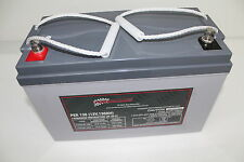 130AH AMP HOUR BATTERY AGM SLA 12 VOLT 12V DEEP CYCLE DUAL FRIDGE SOLAR