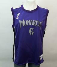 Champion Bolton-Holyfield #6 Women's WNBA Sacramento Monarchs Jersey Blue L