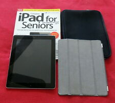 "APPLE iPad 2nd GEN Bundle: 9.7"", WIFI, 32GB, A1395, EUC, Original Owner."