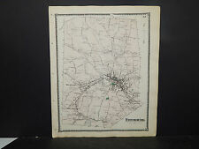 Massachusetts, Worcester County Map 1870 P2#82 Fitchburg