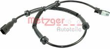 Sensor, Raddrehzahl für Bremsanlage Vorderachse METZGER 0900221