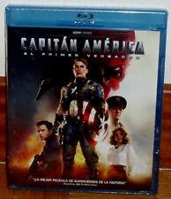 Captain America The First Avenger Blu-Ray Neu Versiegelt Aktion (Ohne Offen R2