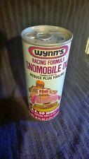 Rare Unopened Can Wynn's snowmobile oil racing formula 70s Vtg Snomobile FULL
