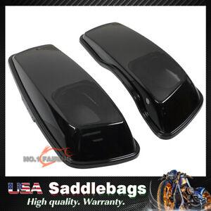 6x9 Speaker Lids For 2014-21 Harley Touring Street Electra Glide Hard Saddlebag