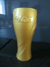 "Coca Cola Glas ""Gold Edition"""