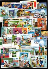 // WHOLESALE - MNH - DISNEY - 134 DIFFERENT STAMPS
