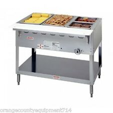 New 3 Well Lp Propane Steam Table Duke AeroHot Wb303-Lp Water Bath #5941 Food