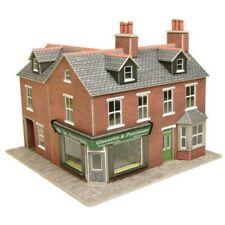 Corner Shop Red Brick - OO/HO Card kit – Metcalfe PO263 - Free Post