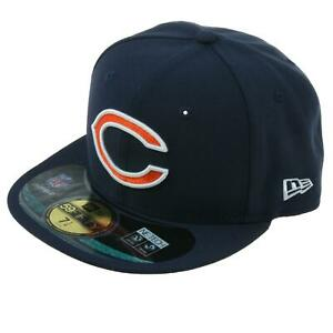 New Era Baseball Cap Chicago Bears On Field 59 Fifty Basecap Navy Kappe 9Fifty