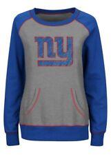 Majestic Women's New York Giants Overtime Queen Crew Jersey Sweatshirt Large L