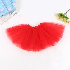 Adults Kids Girls Tutu Skirt Princess Dressup Party Costume Ballet Dancewear New