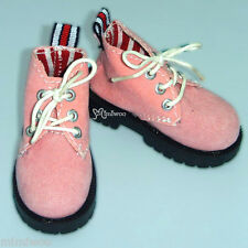 Mimi Collection MSD DOC 1/4 Bjd Obitsu 60cm Doll Velvet Hiking Shoes PINK