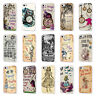 ALICE IN WONDERLAND DISNEY QUOTE WHITE PHONE CASE COVER for iPHONE 4 5 6 7 8 X