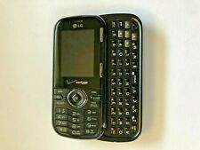 LG Cosmos VN250 - Black (Verizon) Cellular Phone Slider QWERTY Keyboard
