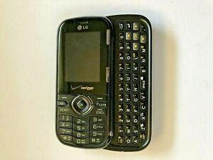 LG Cosmos VN250 - Black (Verizon) Cellular Phone Slider QWERTY Keyboard