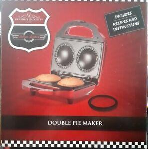 BNIB Gourmet Gadgetry Double Pie Maker