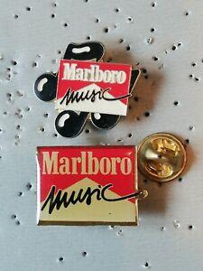 Pin's Pins Marlboro cigarette marque tabac tobacco logo music