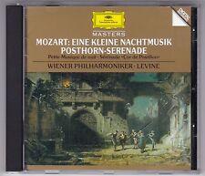 JAMES LEVINE -  MOZART-EINE KLEINE NACHTMUSIK/POSTHORN - SERENADE CD DG GERMANY