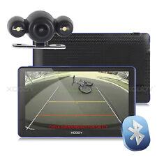 XGODY 7'' 8GB GPS Navigator Bluetooth Navigation with Bluetooth Rear View Camera
