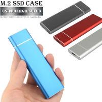 USB 3.0 2TB M.2 SSD External Hard Drive Portable Desktop Mobile Hard Disk