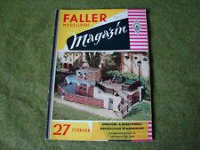 Faller ams   - Magazin Nr. 27