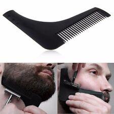 Bart Schablone Rasur Styling Pflege Kamm Bürste Schablone Trimmer Bartpflege