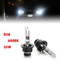2PCS Motor Light 6000K D2R Xenon HID 85126 Bulb Headlight Lamp Genuine 35W Lamps