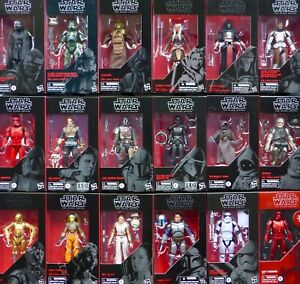 """STAR WARS NEW NON MINT PACKAGING BLACK SERIES 6"""" INCH THE RISE OF SKYWALKER MISB"""