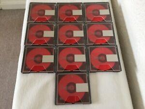 10 Minidisc Sony MD 80 NEU!