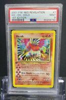 HO-OH - 1st Edition Holo Pokemon Card. Neo Revelation. #7/64. PSA 9.