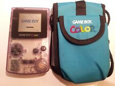 Nintendo Game Boy Color + Carry Case/Bag