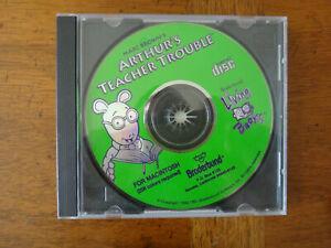 Arthur's Teacher Trouble (Apple Macintosh 1993) CD ROM - Living Books
