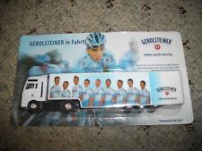 Team Gerolsteiner MAN  Gardinen SZ 1:87 mit  Radrennfahrer Nr.2